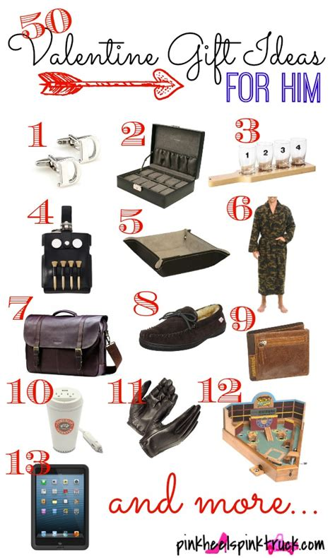 50 valentine gift ideas for him taylor bradford
