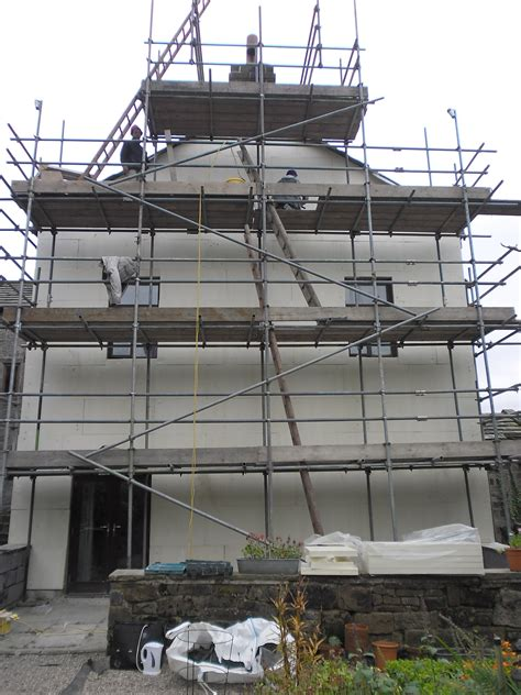 5 the old pattern works hebden bridge insulated external through coloured render system cragg