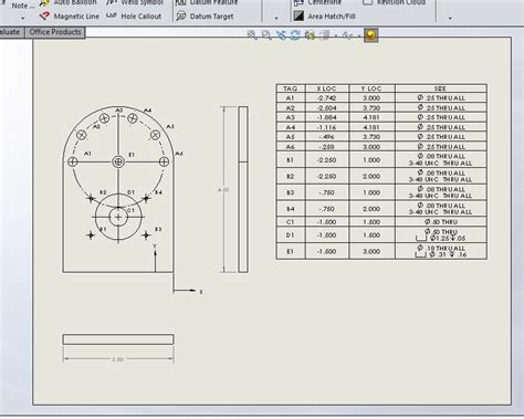 how to a design table in solidworks solidworks tools tables computer aided technology