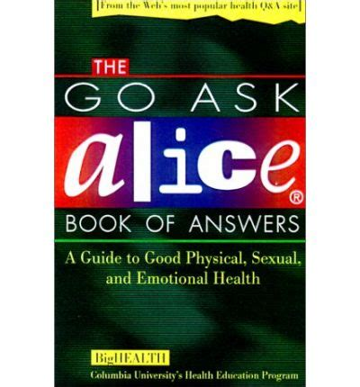 go ask book report the quot go ask quot book of answers a guide to