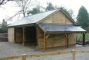Garage Roof Design Classic Carport Amp Garage With Lean To Log Store Fibre