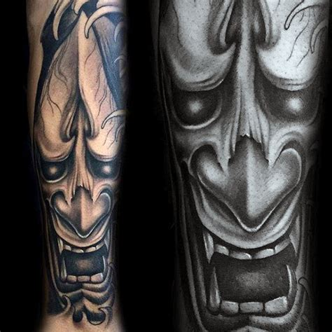 hannya mask tattoo forearm 63 fabulous hannya mask tattoo designs and ideas about