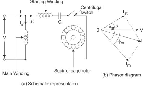 Single Phase Motor Connection With Capacitor