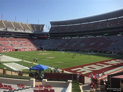 bryant denny stadium student section lower level corner bryant denny stadium football seating