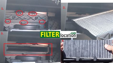 2010 Chevy Tahoe Cabin Air Filter by Cabin Air Filter Location Likewise Chevy Tahoe