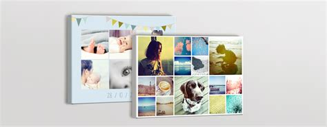 create canvas collage collage canvas prints wall photobox