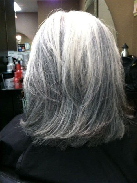 buy lowlights for grey hair dimensional dark low lights done on all white hair yelp