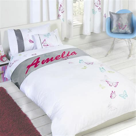 custom bedding sets personalised butterfly duvet cover with pillow case