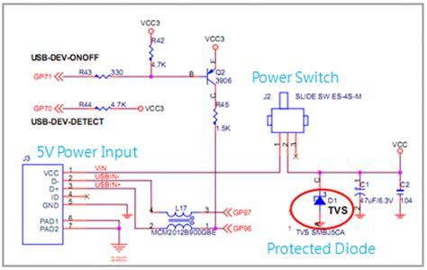 tvs diodes usb 86duino educake hardware introduction 86duino