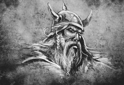 viking tattoo illustration stockfotografi 169 outsiderzone