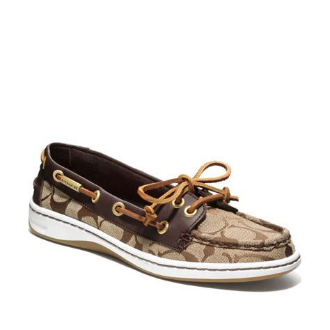 couch shoes coach richelle boat shoe from coach shoes