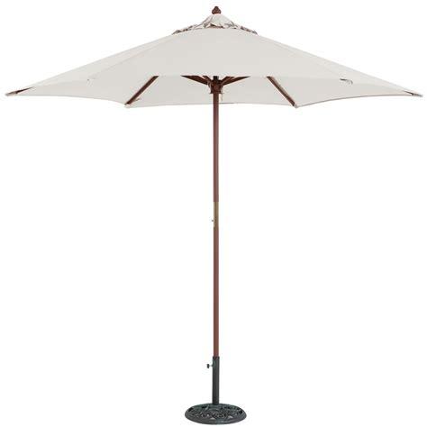 Tropilight Patio Umbrella 0322sl 9 Light Wood Market Umbrella Tropishade Worldwide Manufacturer Of Outdoor Patio Umbrellas
