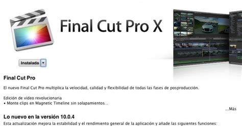 final cut pro versions compatibility apple updates its professional video editing suits