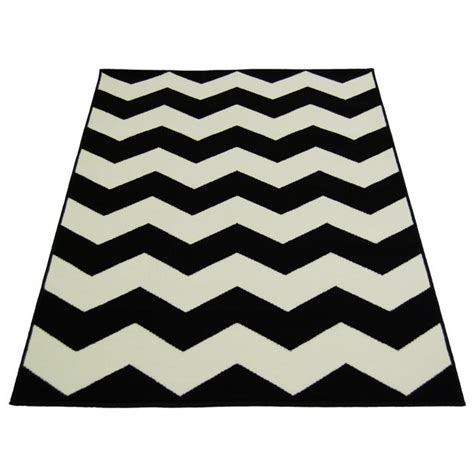 argos black rug buy chevron rug 160x230cm black and white at argos co uk your shop for rugs and