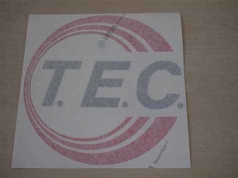 Aufkleber Wohnwagen Tec by Aufkleber T E C Original Ersatzteil T E C