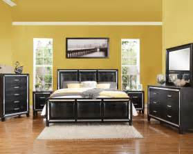 Acme Bedroom Set Black Crocodile Bedroom Set Elberte By Acme Furniture