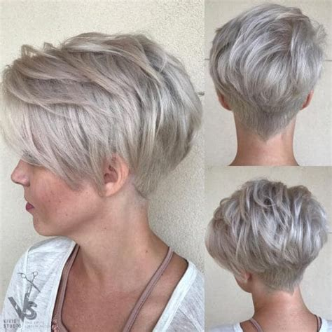 pixie hairstyle full on top tapered back for women short hair with bangs 25 most popular hairstyles for