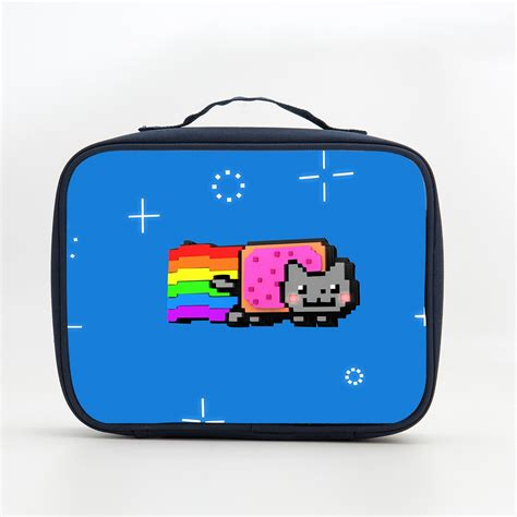 Souvenir Marrycats Bag N Friends nyan cat rainbow lunch bag pop tart rainbow lunch boxes for