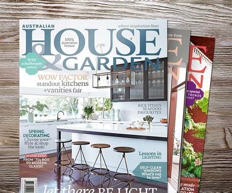 house design magazines australia australian house and garden homes