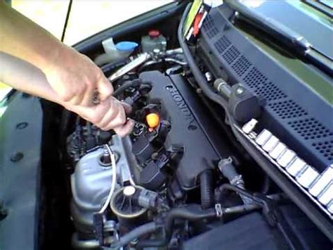 Engine Honda Jazz 2008 2013 Chrome how to change the spark plugs in an 8th generation honda