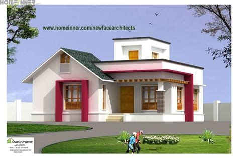 Kerala Home Design 1000 Sq Ft by 1000 Sq Ft Low Cost Kerala House Design Newface Architects