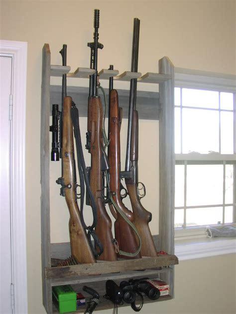 pattern for wall gun rack gun rack stuff pinterest