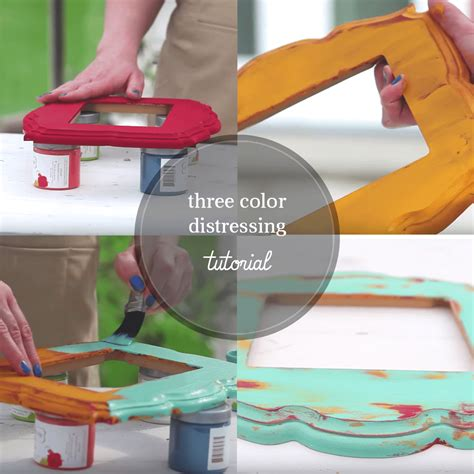 create shabby chic furniture how to layer paint to create shabby chic furniture