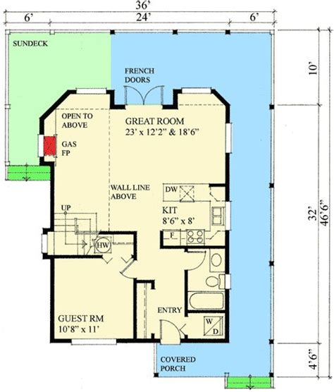 Master Retreat Floor Plans Plan 9812sw Ultimate Retreat House Plans 2nd Floor And