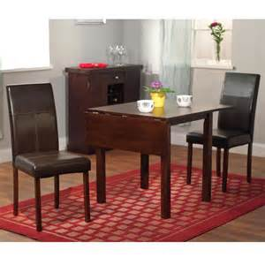 dining room set wooden furniture 3 drop leaf table
