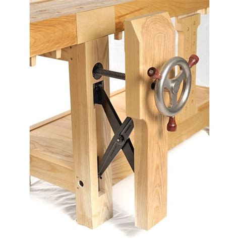 woodworking bench vise hardware benchcrafted glide leg vise
