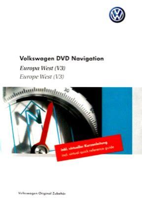 Navi F R Motorr Der Gebraucht by Volkswagen Vw Seat Skoda Navi Dvd Europa West V3 Biete