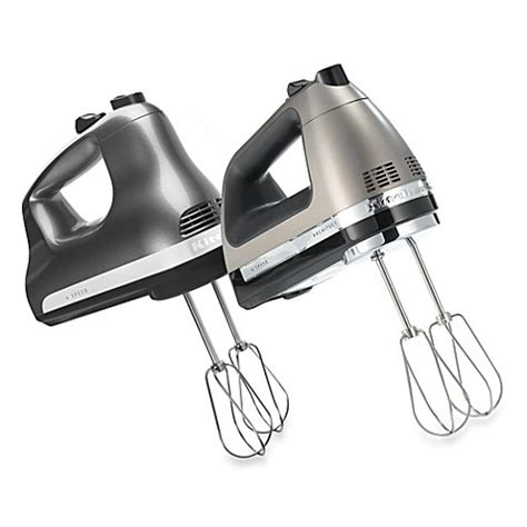 bed bath and beyond hand mixer kitchenaid 174 6 speed hand mixer bed bath beyond