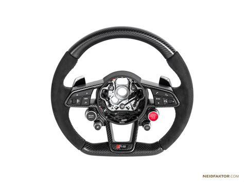 audi steering wheels 2017 audi r8 steering wheels tuned by neidfaktor with
