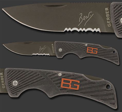 grylls compact scout knife my grylls gerber survival compact scout knife