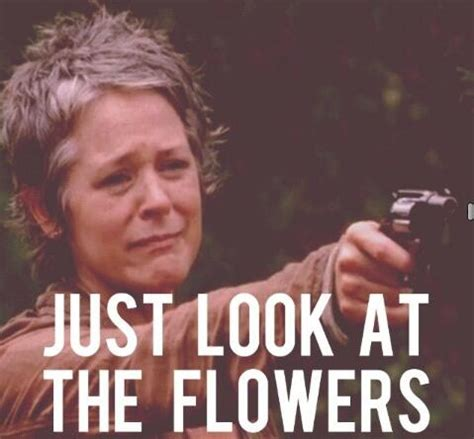 Look At The Flowers Meme - walking dead memes page 1 ar15 com