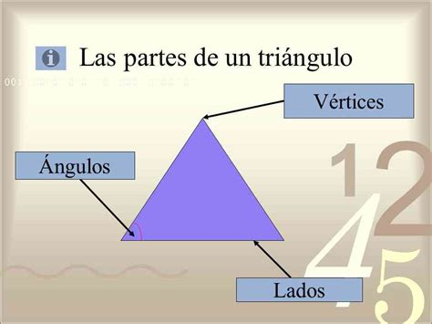 figuras geometricas y sus partes partes del tri 225 ngulo