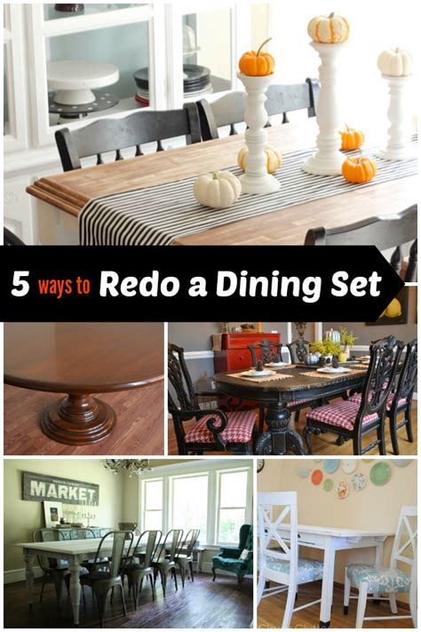 how to redo a dining room table 5 ways to redo a dining room table infarrantly creative
