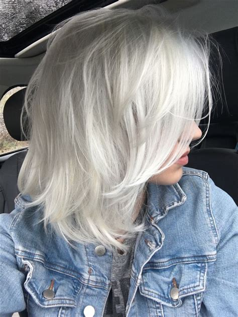 age for icy blonde hair the 25 best gray hairstyles ideas on pinterest short