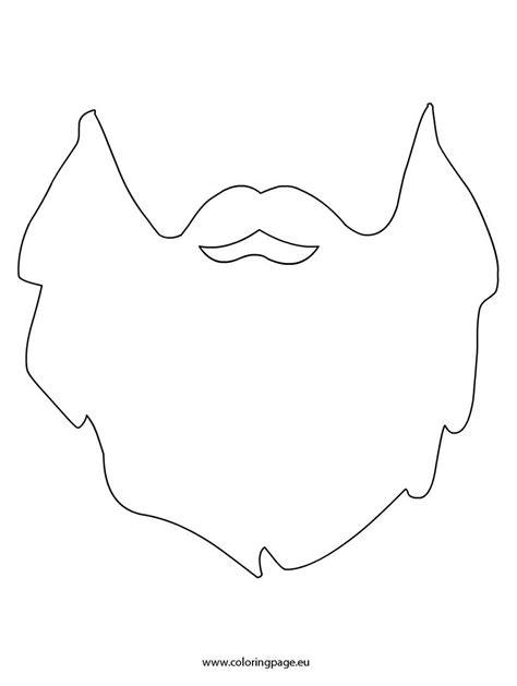 beard coloring beard printable szablony lumberjack