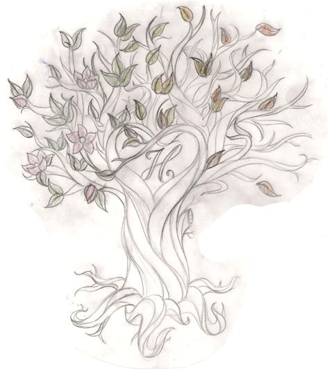 tree of life tattoo tree of this sketch is so whimsical would to