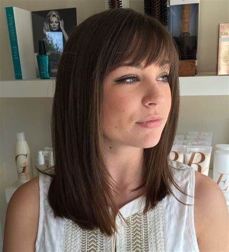 Medium Hairstyles For Thin Hair With Bangs by 70 Darn Cool Medium Length Hairstyles For Thin Hair