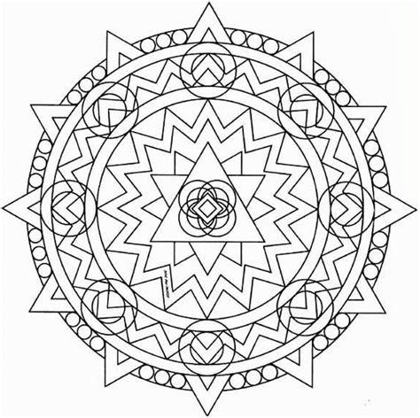 imagenes de mandalas a color dibujos de mandalas imagui