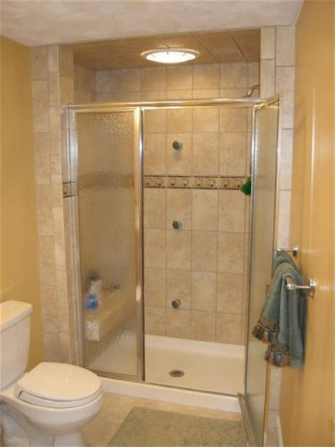 home depot shower stalls