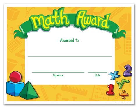 math certificate template product listings certificates awards recognition