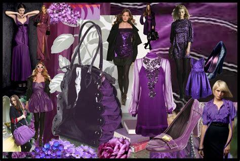 Purple Craze Fall 2007 Trend by Fashion Colour Mood Boards Fall 2007 Winter 2008 Colour