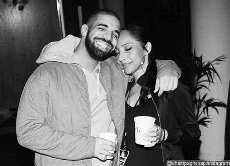 report drake dating legendary singer sade adu