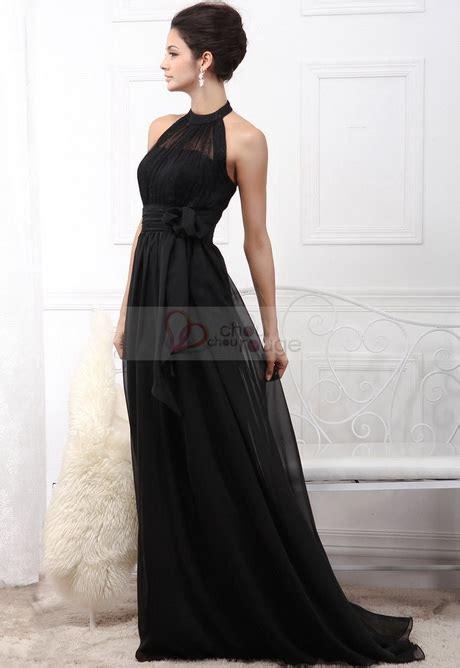 Robe De Bal Noir Longue - robe de soiree longue