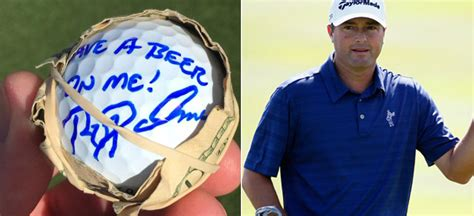 ryan palmer swing the beers are on ryan palmer today at no 16