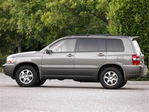 2005 Toyota Highlander Reviews 2005 Toyota Highlander Sport Utility 4d Pictures And