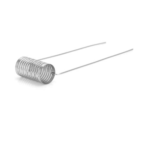 D07 Notch Coil Stainless Steel 0 2 Ohm Ss Wire 316l Wismec Theorem authentic vapesoon 10pcs 0 2 ohm 316ss prebuilt notch coil for rba